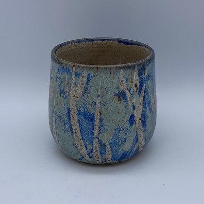 Capri flower gin cup