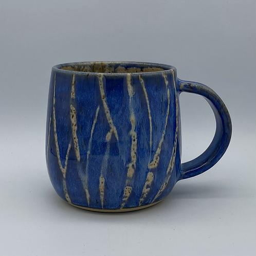 Capri blue grass mug