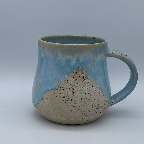 Norse blue drip mug