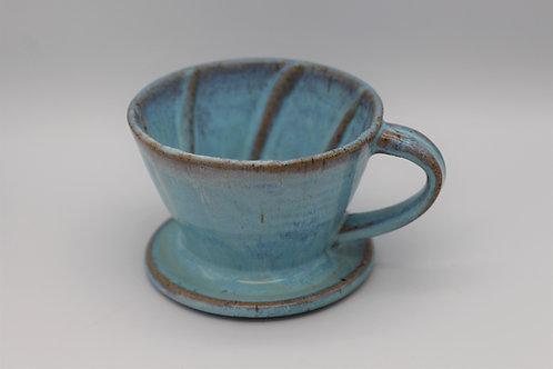 Blue coffee filter
