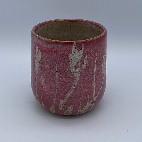 Pink gin cup