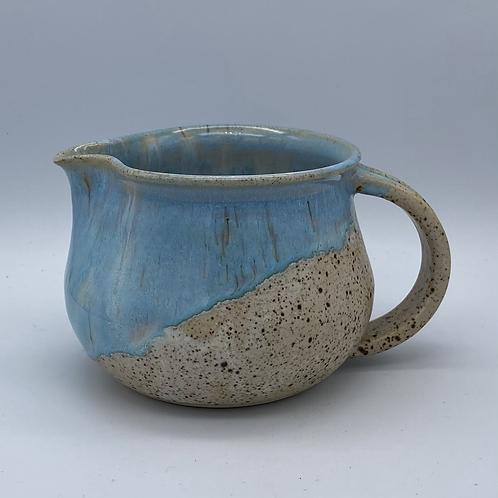 Norse blue drip jug