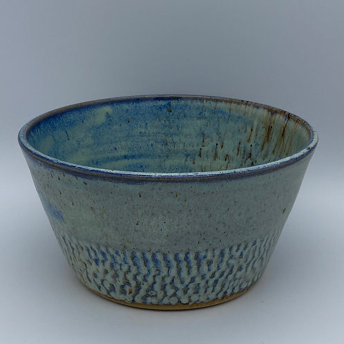 Capri blue textured planter