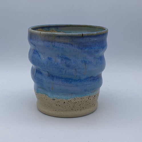 Blue gin cup