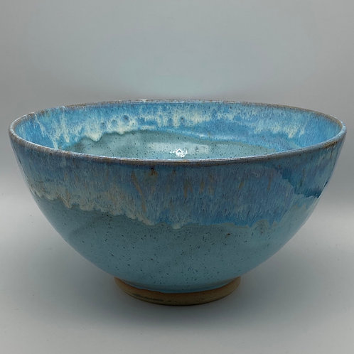 Large norse blue bowl