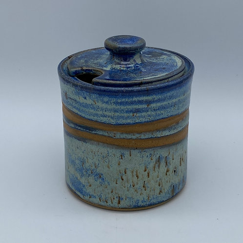 Capri blue sugar bowl