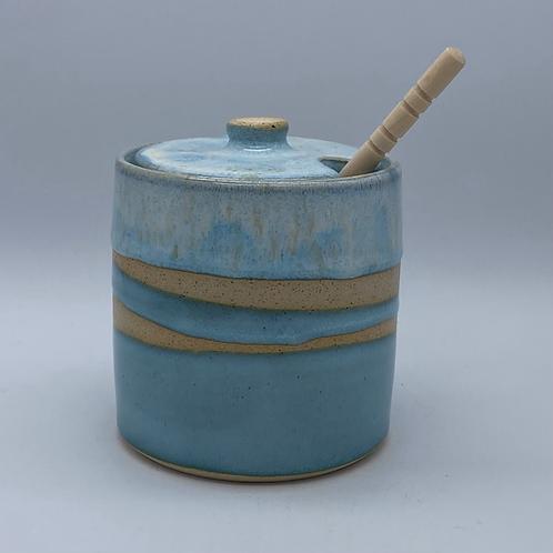 Blue Honey Pot