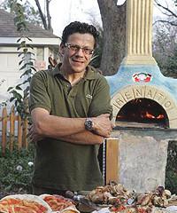 Chef Francesco Farris entertains at home, too.