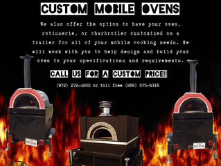 Mobile ovens, rotisseries, and charbroilers