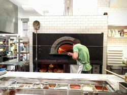 Steel Reinforced brick Pizza Oven