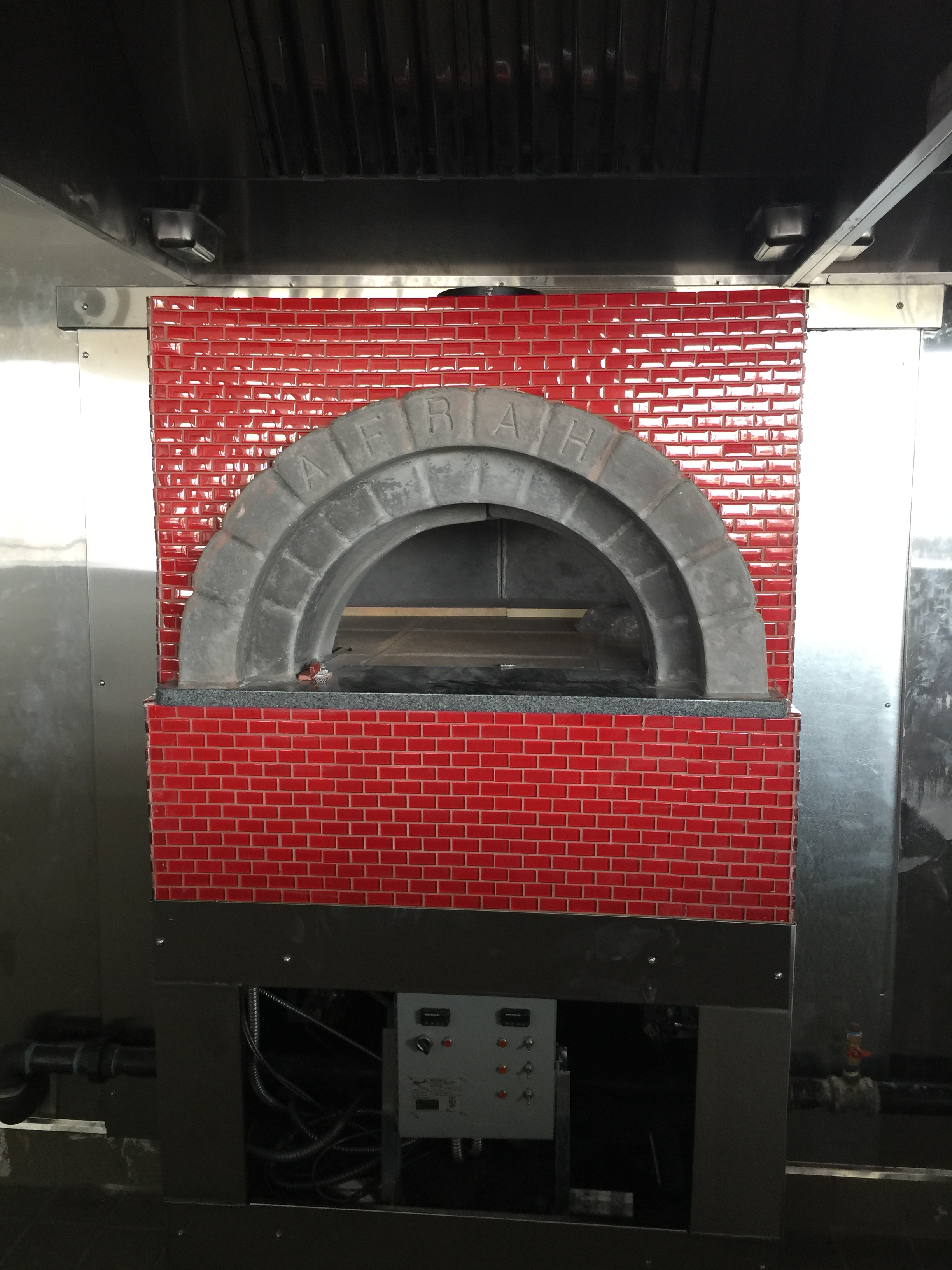 Commercial Brick Pizza Oven