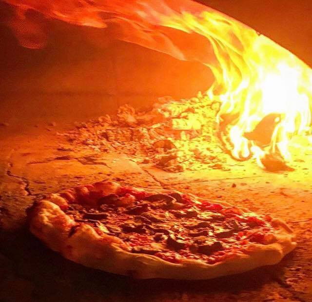Pizza in Brick Oven