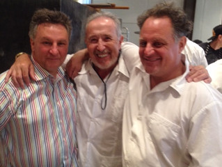 """""""Renato poured me a beauty"""" - Excerpt from an interview with Chris Bianco by Food Arts Mag"""