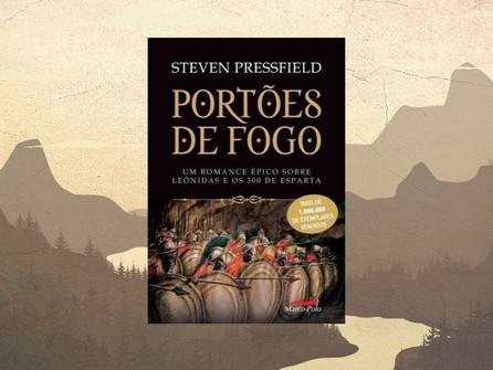 """Impressões a respeito do livro """"Portões de Fogo: um romance épico sobre Leônidas e os 300 de Esparta"""