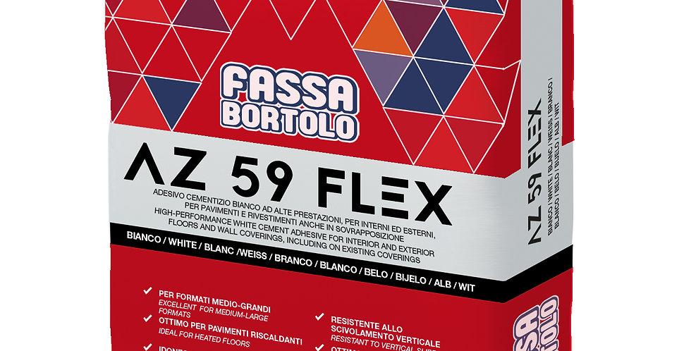 COLLE CARRELAGE  AZ 59 FLEX BLANC OU GRIS C2TES1 25 kg REF:HBDCCAZ59FL