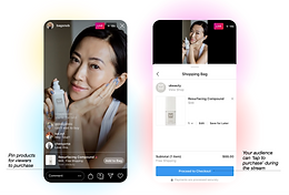 New Feature: Live Shopping