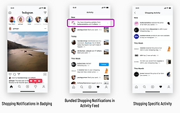 New Feature: Shopping Notifications