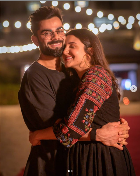 Anushka Sharma And Virat Kohli Photo