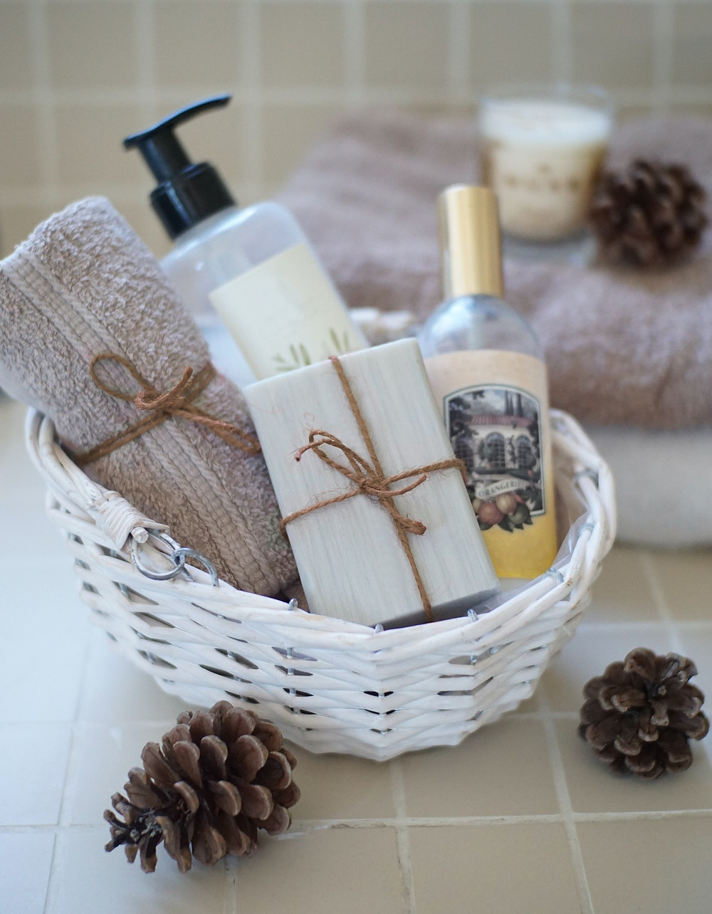 toiletry bag for wedding day