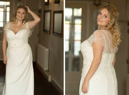 Our Favourite Vintage-Inspired Curvy Bridals now at Confetti & Curves