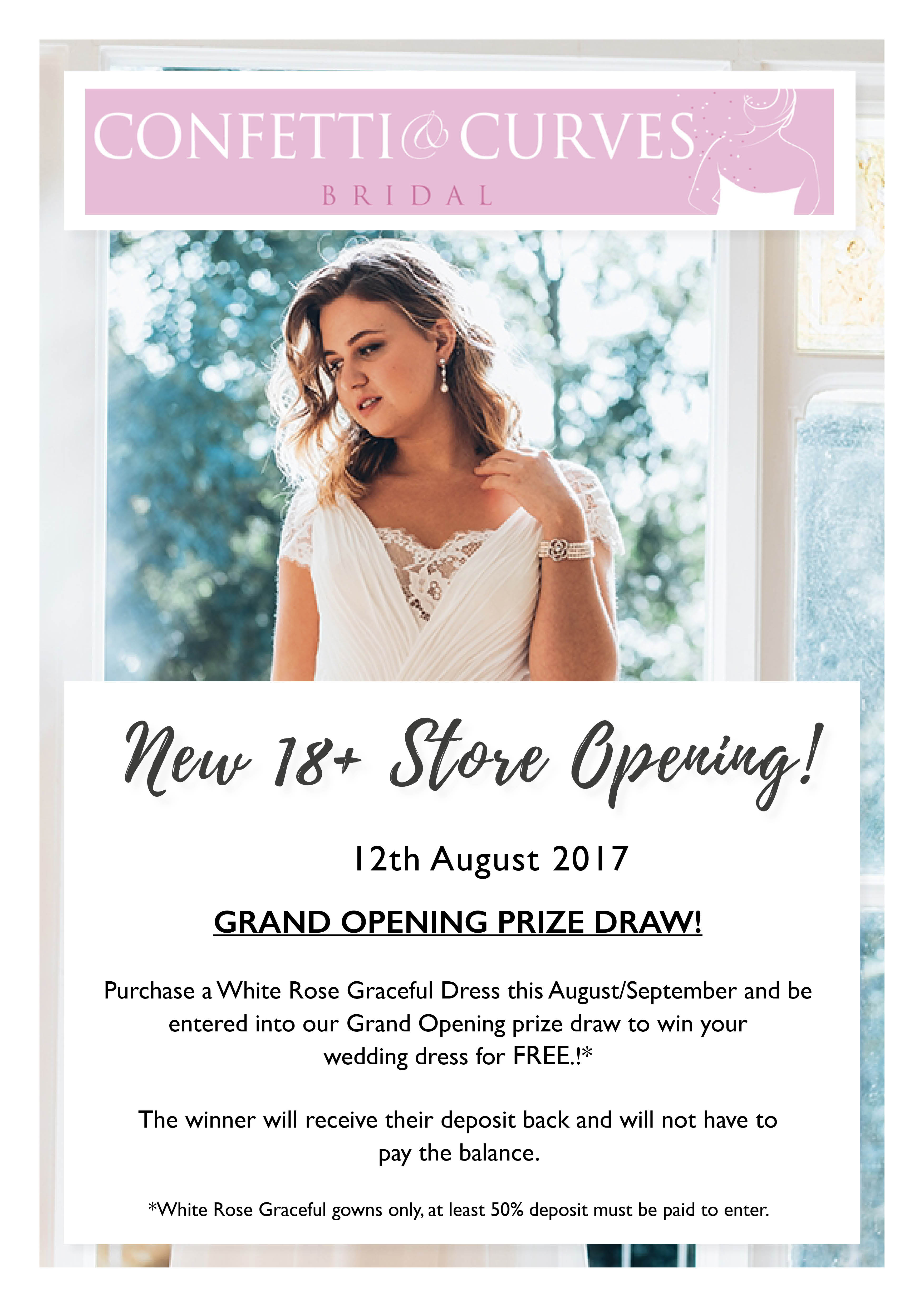 Our Curvy Wedding Dress Boutique Opening Soon! | Plus Size Wedding ...