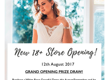 Our Curvy Wedding Dress Boutique Opening Soon!