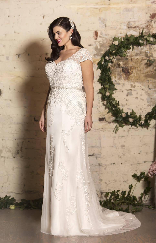true curves plus size wedding dress luton