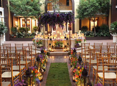 10 Stunning Ways To Make Your Wedding Aisle A Walk To Remember