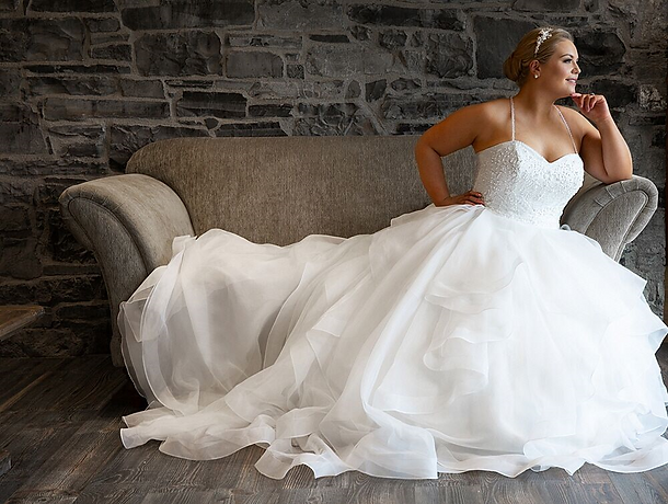 Beautiful Brides plus size wedding