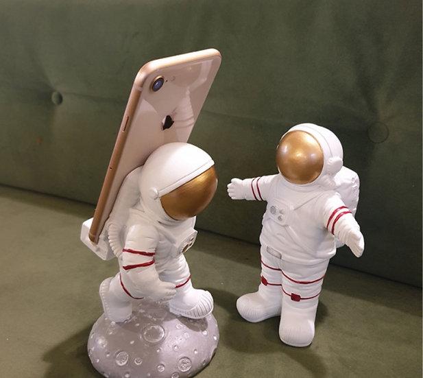 Primer paso en la luna porta celular / Decorativos