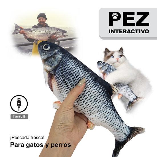 Pez Interactivo para Perros y Gatos