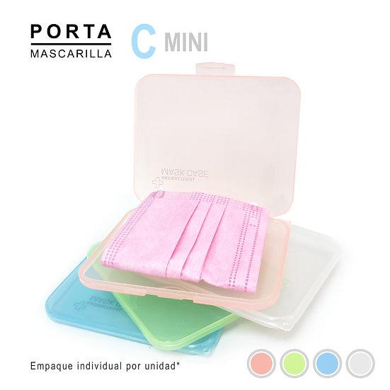 Porta Mascarilla Tipo C-mini Transparente