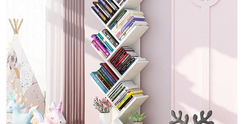 Librero diagonal L