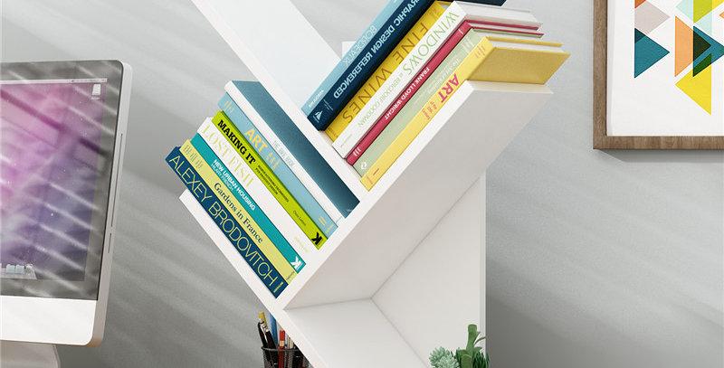 Librero diagonal S