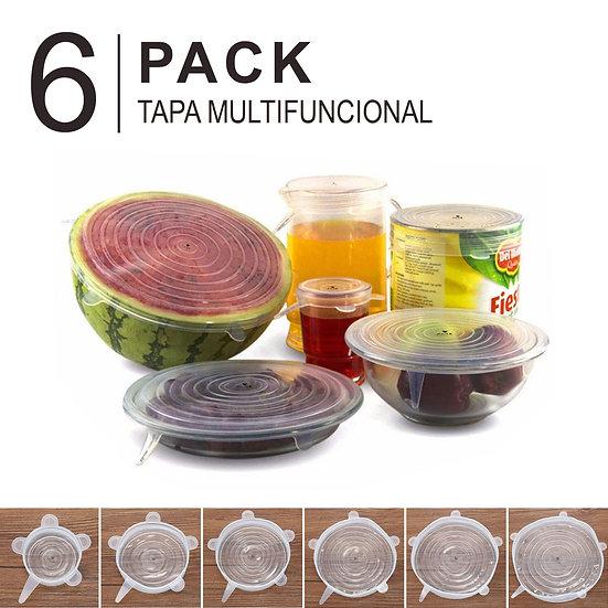 6Pack Tapa multifuncional