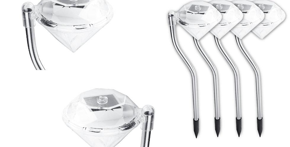 Estaca solar 4UN Diamante Curvy
