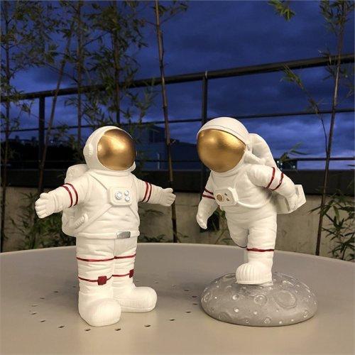 Adorno de mesa / Astronautas brazos abiertos / Decorativos