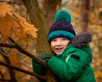 Autumnal Childrens photography