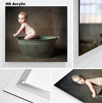 HD acrylics