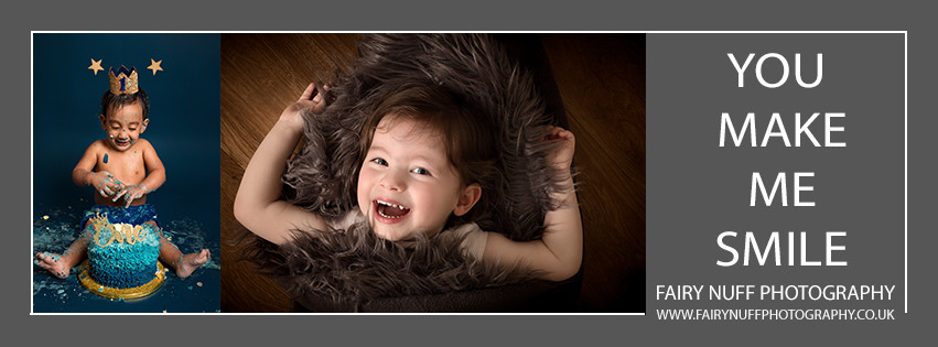 Toddlers make us smile at Fairy Nuff Photography.  Cake Smashes and child photography portrait sessions, Nottingham