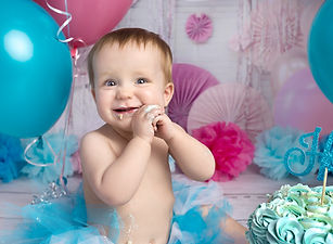 baby girls first birthday photography se
