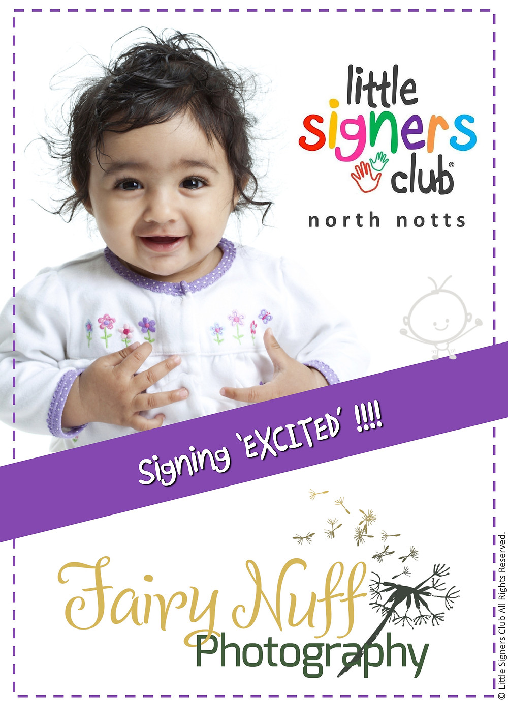 Fairy Nuff Photography working with Little Signers Club, North Nottingham