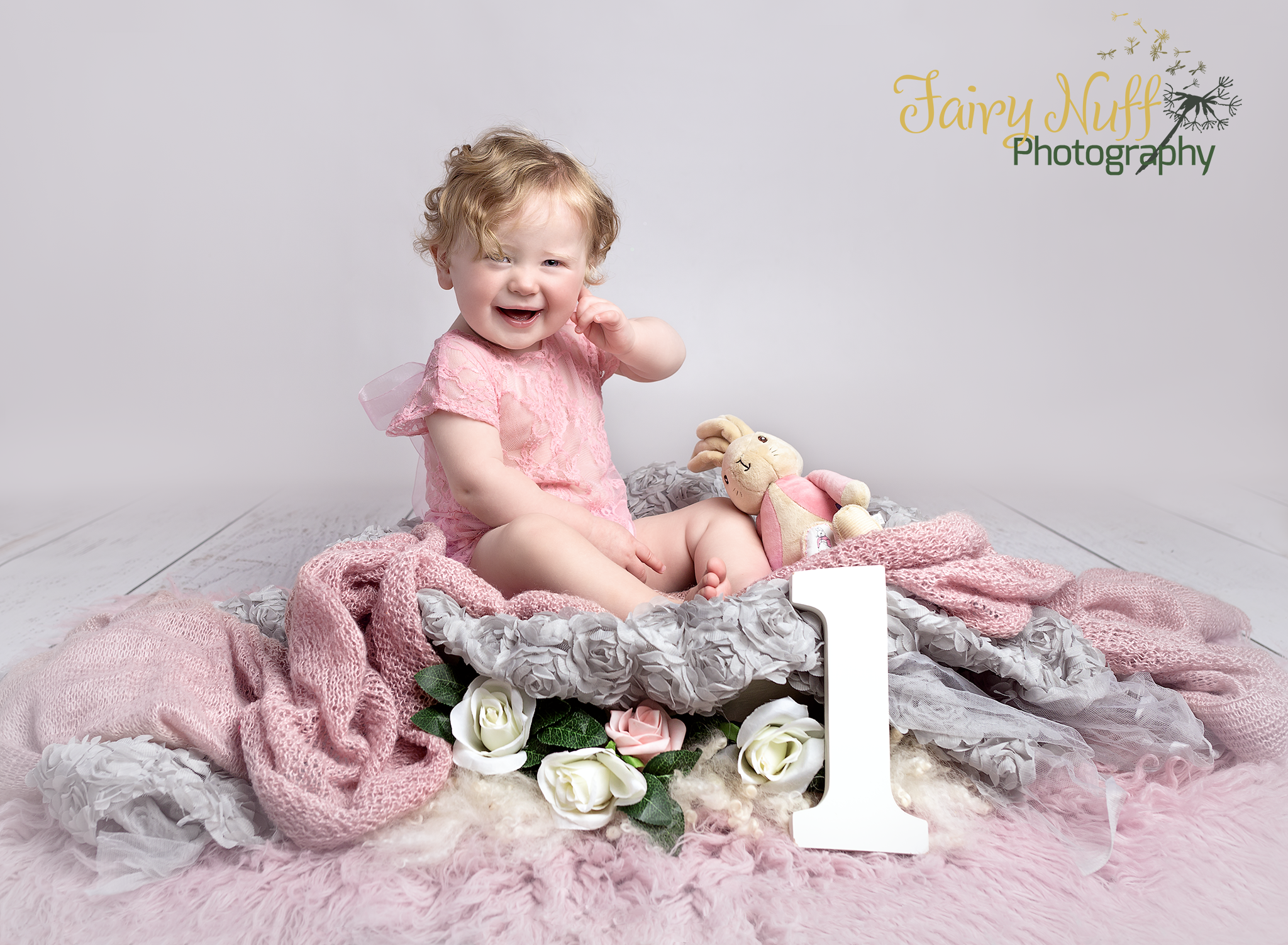 first birthday girls photography