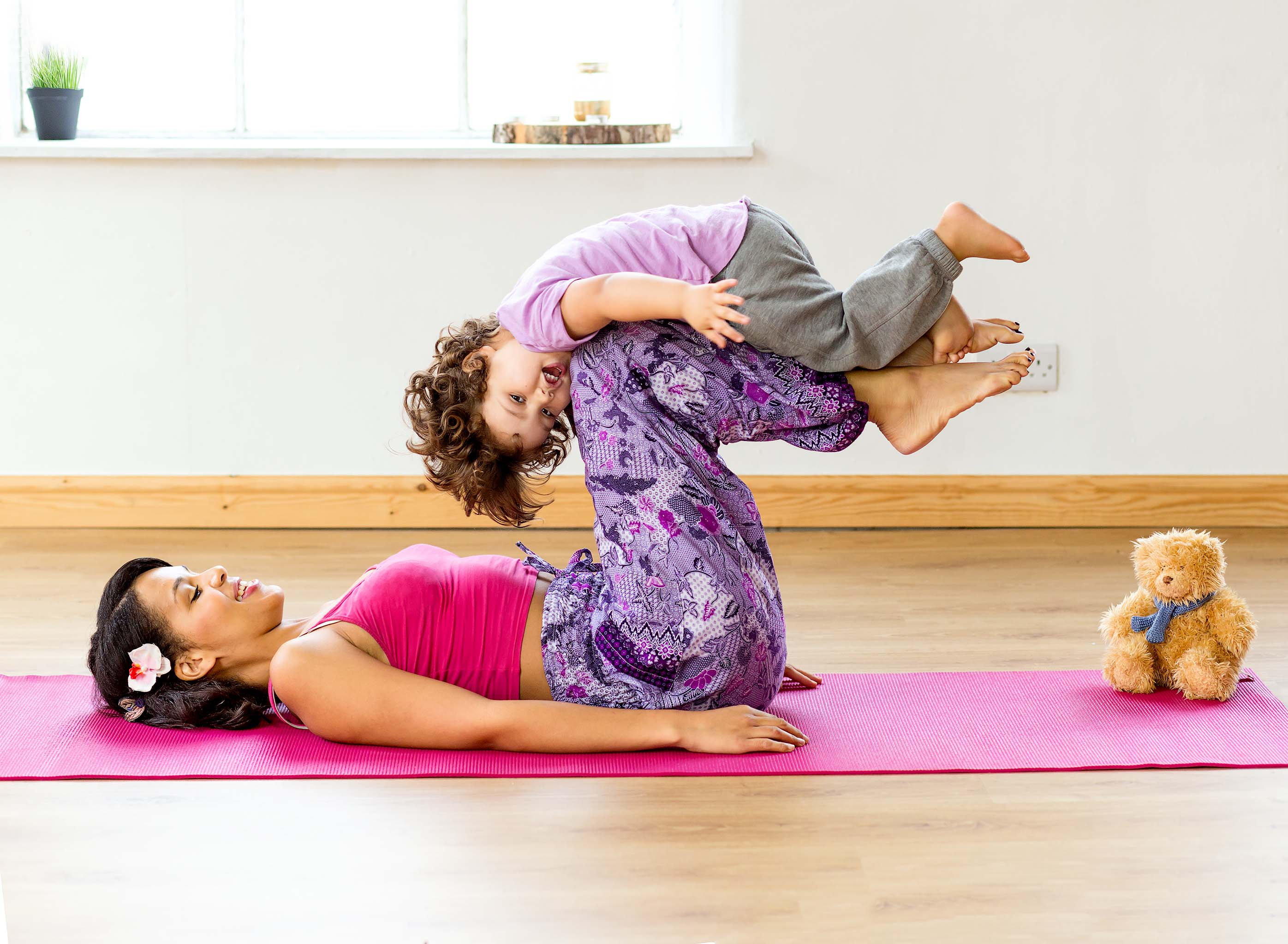 child yoga class instructor