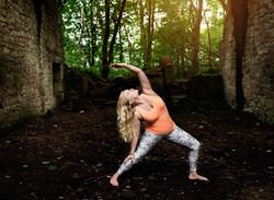 Yoga business branding photoshoot