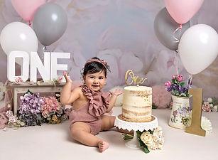 Cake smash 1st Birthday photoshoot Fairy