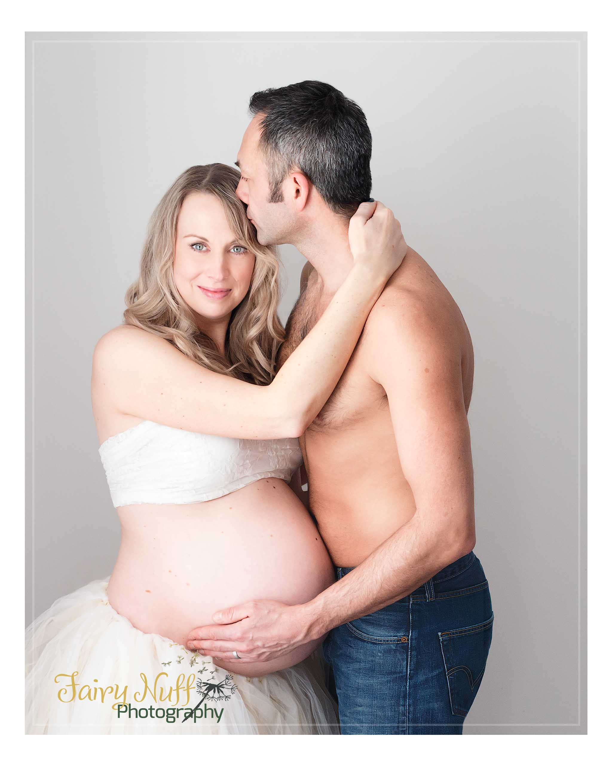 Beautiful couple maternity image