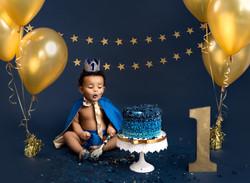 Little prince cake smash