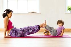 yoga business branding photography