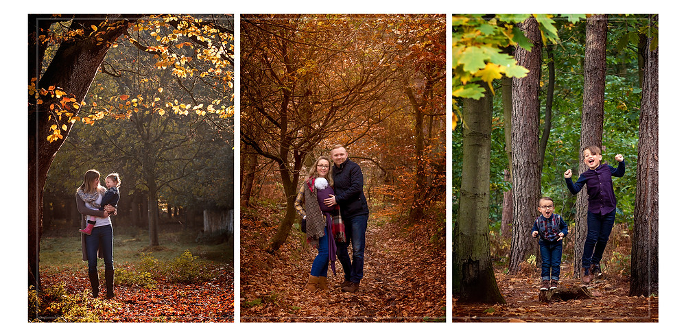 Autumnal photography sessions - perfect for children
